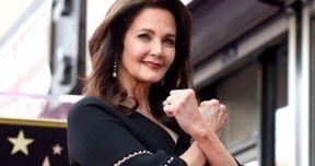 Watch Lynda Carter Strike Wonder Woman Pose During Walk of Fame Ceremony