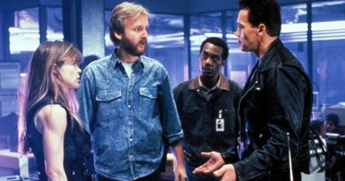 New Terminator Movie to Reunite Arnold Schwarzenegger & James Cameron?