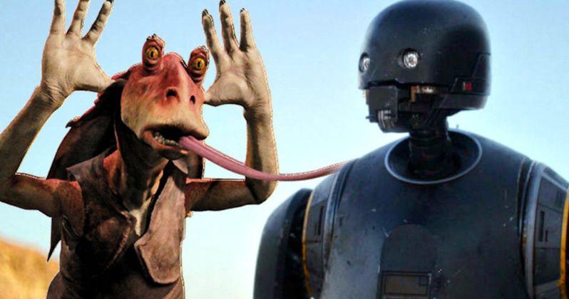 Is Star Wars Droid K-2SO the Jar Jar Binks of Rogue One?