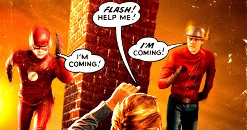 The Flash Season 2 Poster Has First Look at Jay Garrick