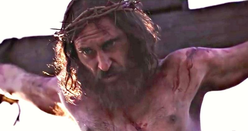 Joaquin Phoenix Is Jesus Christ in First Mary Magdalene Trailer