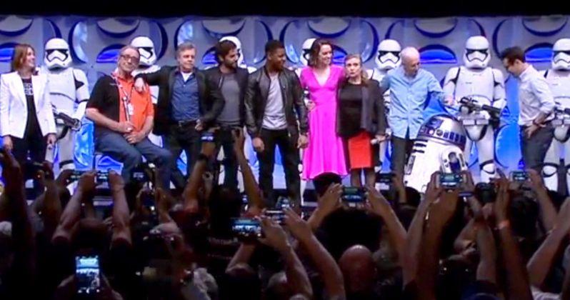 Star Wars 7 Cast Joins Together at Star Wars Celebration