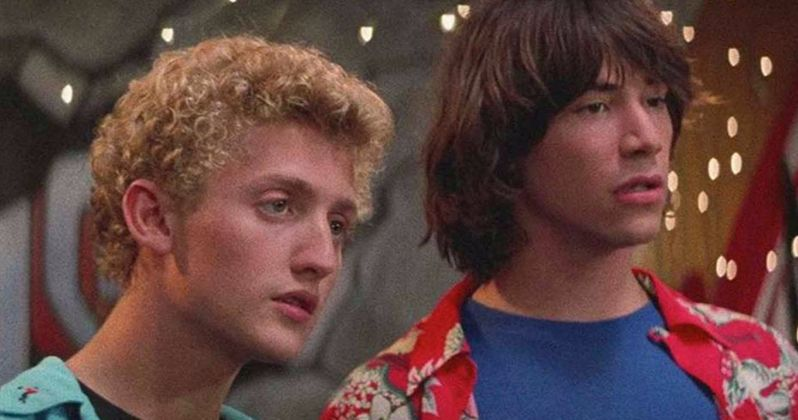 Bill & Ted Attend a Bogus Wedding in Latest Face the Music Set Photos