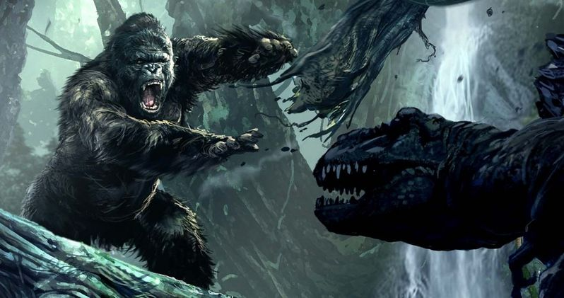 Joe Cornish to Direct Legendary's King Kong Reboot Skull Island