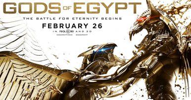 Gods of Egypt Trailer #2: The Battle for Eternity Begins
