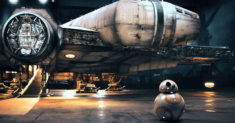 Star Wars 7 Featurette Reveals Millennium Falcon Secrets