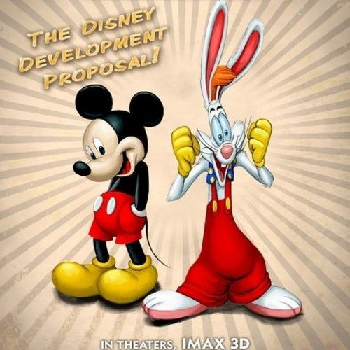 Mickey Mouse and Roger Rabbit Team Up for The Stooge