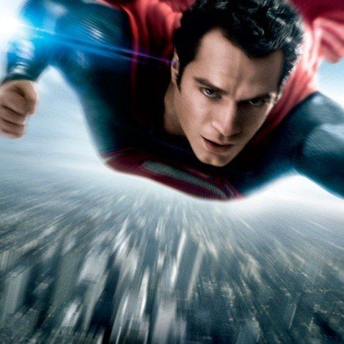 Superman Takes Flight in New Man of Steel Poster