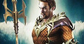 Aquaman Movie Puts Jason Momoa in Classic Orange and Green Suit?