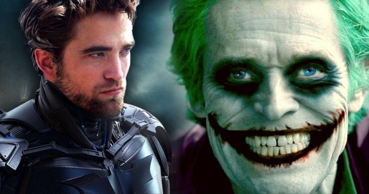 The Batman Advice Willem Dafoe Gave Robert Pattinson