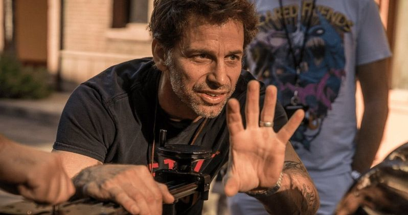 Zack Snyder Backs Justice League Director's Cut Theory