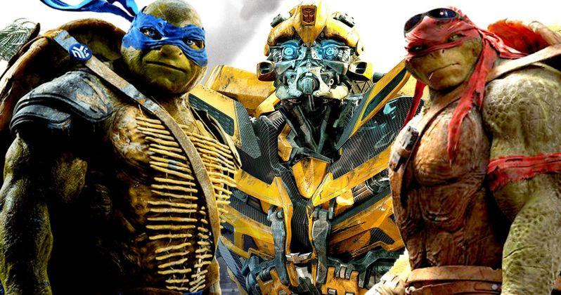 Ninja Turtles 2 Video Reveals Transformers Bumblebee Cameo?