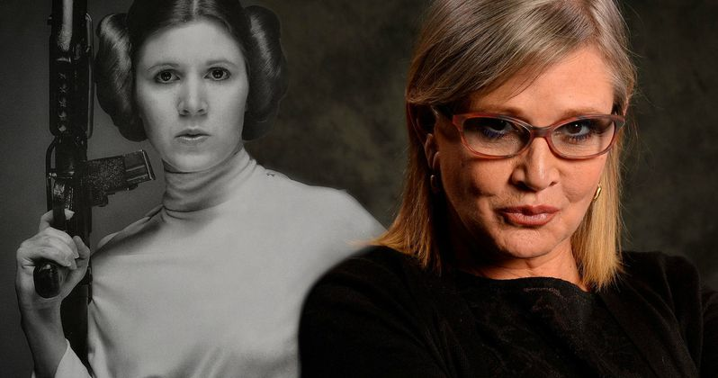 Carrie Fisher Remains Stable Following Holiday Weekend Heart Attack