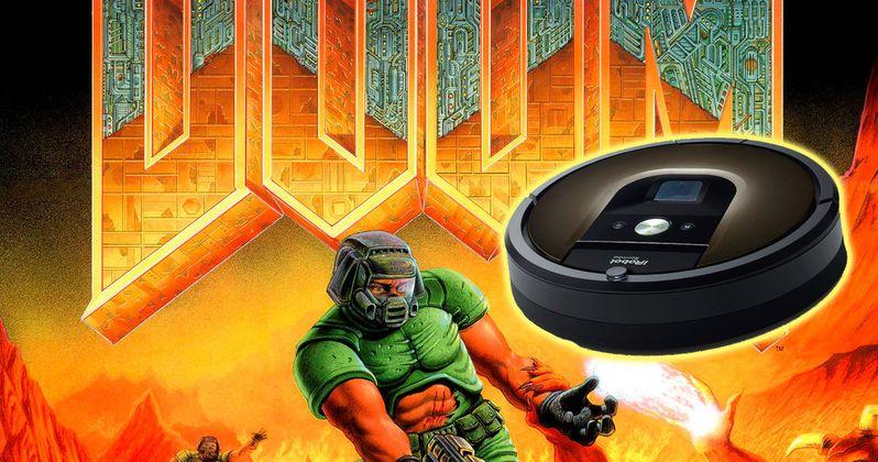 Doomba Hack Creates Custom DOOM Levels with Your Roomba