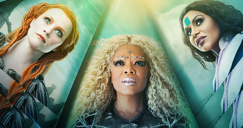 A Wrinkle in Time Poster Travels Across Dimensions of Time and Space