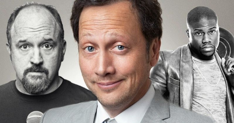 Rob Schneider Stands Up for Kevin Hart & Louis C.K.: Jokes Are Words