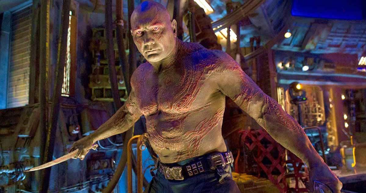 James Gunn Reveals an Interesting New Fact About Dave Bautista's Drax Costume