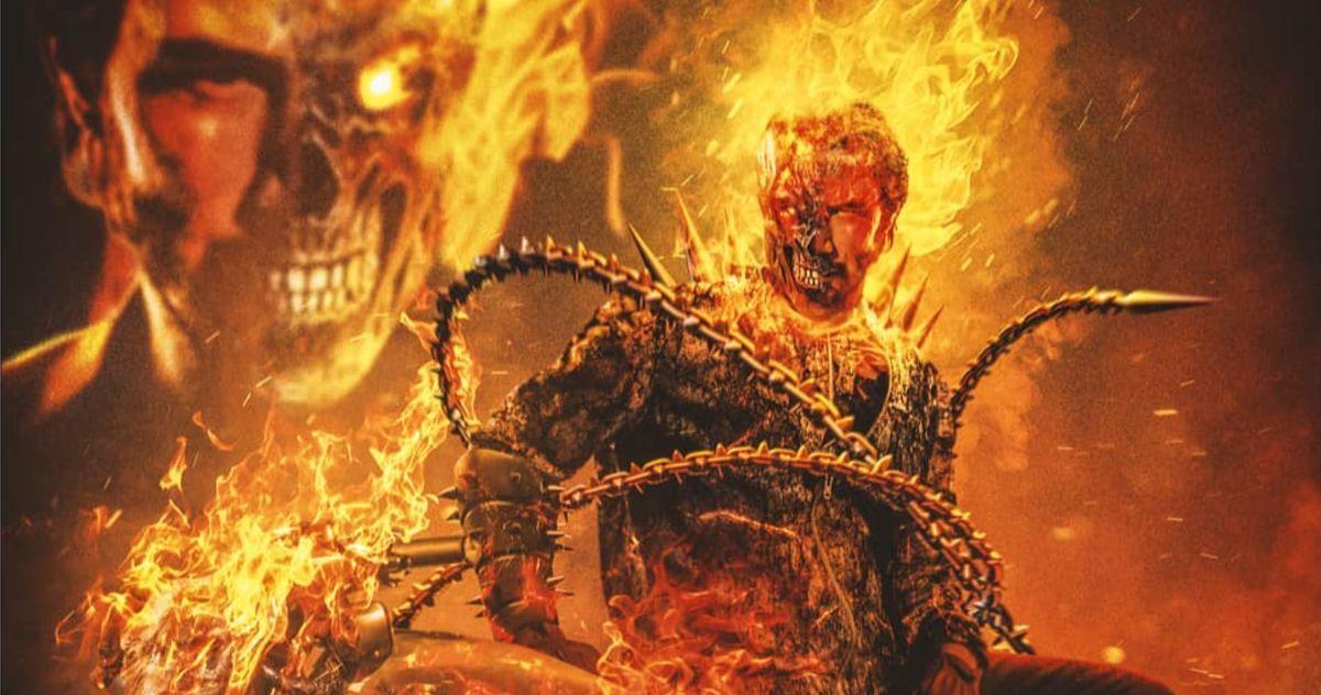 Keanu Reeves Is the MCU's New Ghost Rider in Fiery Fan Art