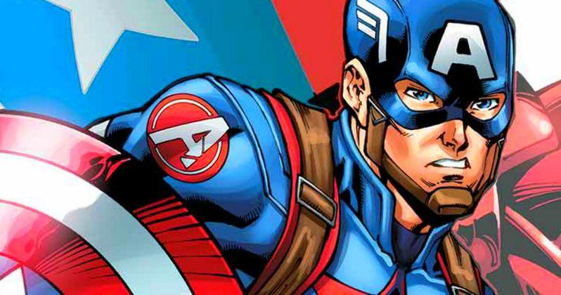 Captain America: Civil War Comic Cover Assembles the Avengers
