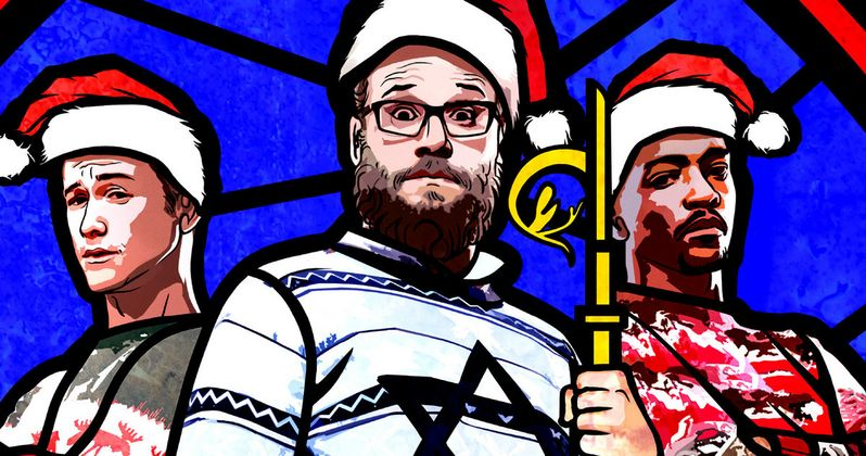 The Night Before Red Band Trailer Starring Seth Rogen