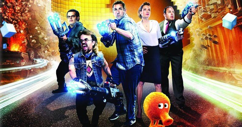 Pixels Blu-ray Preview: Adam Sandler Vs Pac-Man | EXCLUSIVE