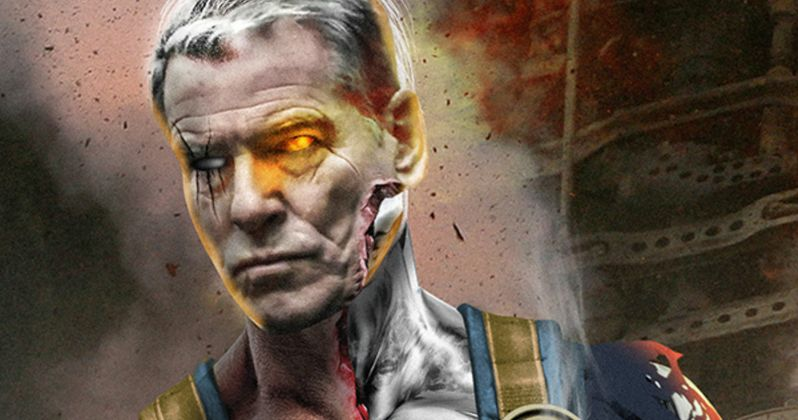 Is Pierce Brosnan Really Playing Cable in Deadpool 2?