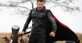 Thor Trades Stormbreaker for a Big Gun in Early Infinity War Concept Art