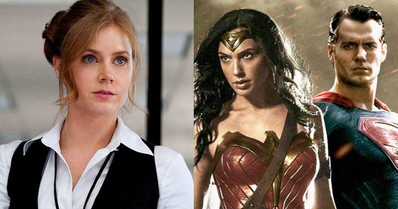Batman v Superman: Wonder Woman Won't Fight Lois Lane