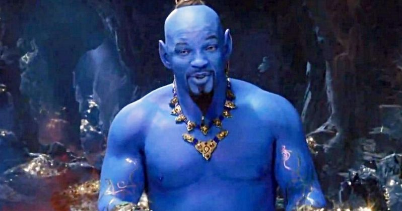 Aladdin 2019: Will Smith's Blue Genie In Aladdin Has Twitter Creeped Out