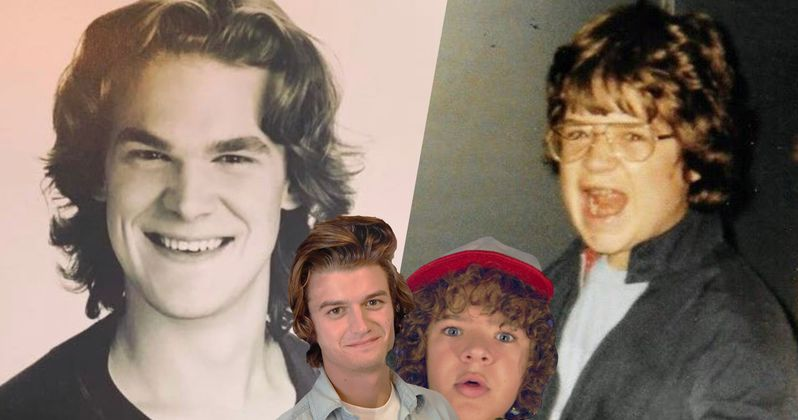 Patton Oswalt & David Harbour Are Stranger Things Real-Life Dustin and Steve