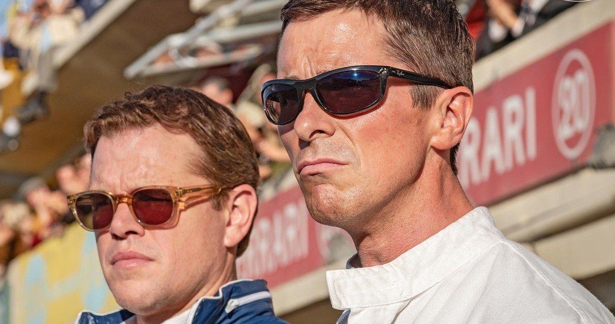 Ford V Ferrari First Look at Christian Bale and Matt Damon