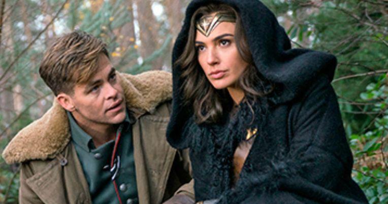 Wonder Woman Photos Have Gal Gadot & Chris Pine Ready for War