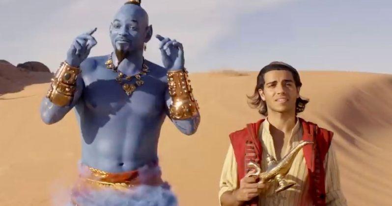 Will Smith, Disney & Make-A-Wish Unite for #FriendLikeMe Aladdin Challenge