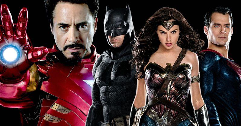 Batman v Superman Beats Iron Man at the Domestic Box Office