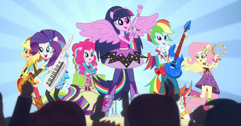 My Little Pony: Rainbow Rocks Music Videos, Photos and Clip