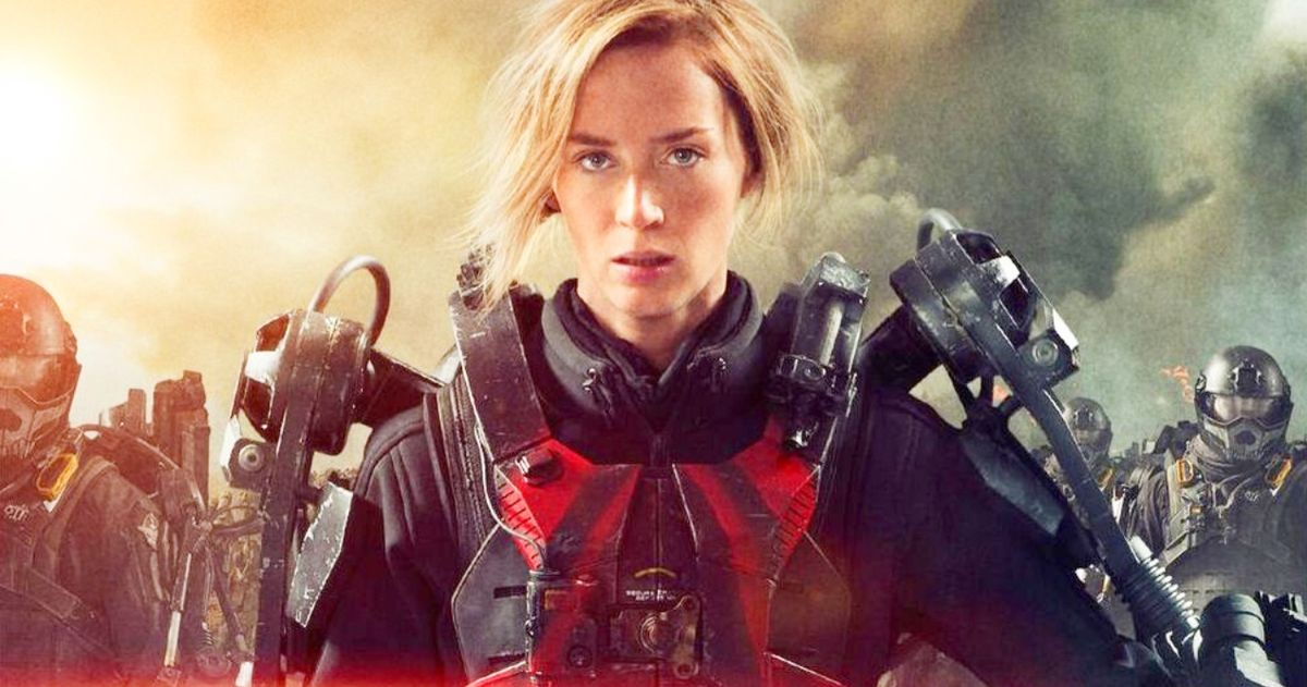 Edge Of Tomorrow 2 Case Has Been Cracked Teases Emily Blunt