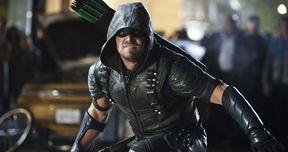 Arrow Season 4 Finale Photos Tease Epic Showdown with Damien Darhk