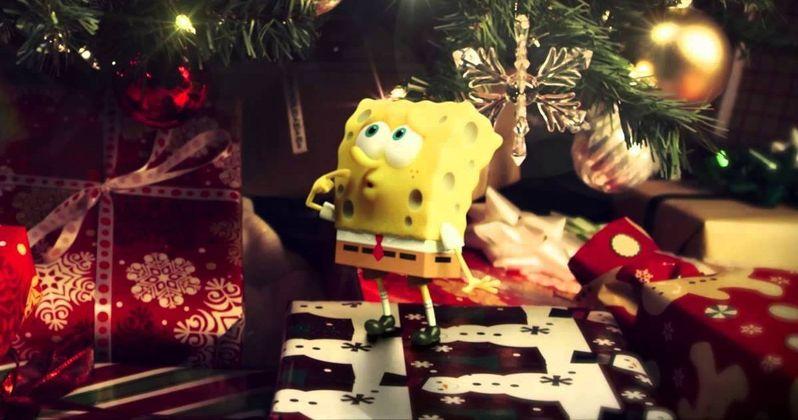 Spongebob Movie Christmas Video Wishes Happy Holidays