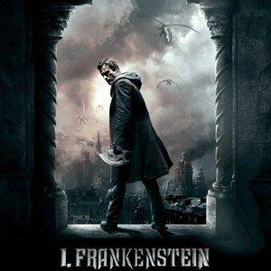 I, Frankenstein Motion Poster with Aaron Eckhart