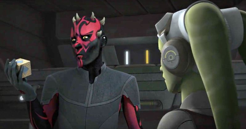 Darth Maul Returns in Star Wars Rebels Season 3, Episode 2 Clip