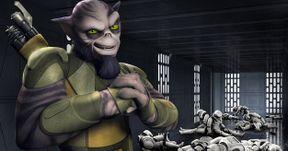 Star Wars Rebels Introduces Alien Strongman Zeb