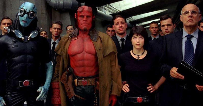 Hellboy Reboot Almost Continued Guillermo Del Toro's Universe