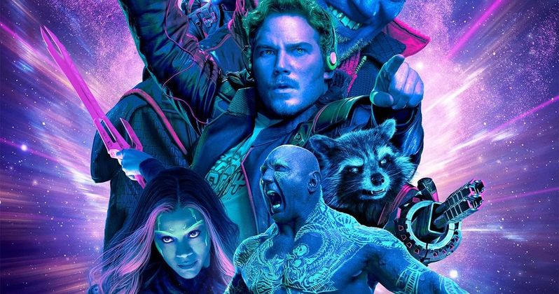 Guardians of the Galaxy 2 Gets an Amazing IMAX Poster