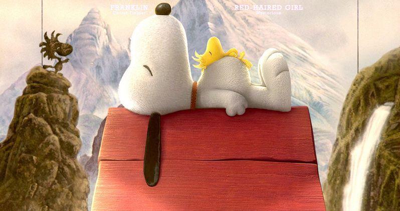 Peanuts Movie Posters with Snoopy, Charlie Brown & Linus