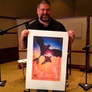 COMIC-CON 2013: Director Dean DeBlois Reveals How to Train Your Dragon 2 Drew Struzan Poster