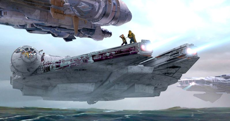 Official Star Wars: The Force Awakens Concept Art Unveiled by ILM