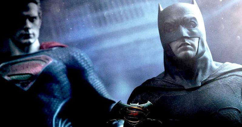 Batman v Superman Hot Toys Action Figures Unveiled