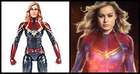Brie Larson Has a Question About Her Captain Marvel Action Figure