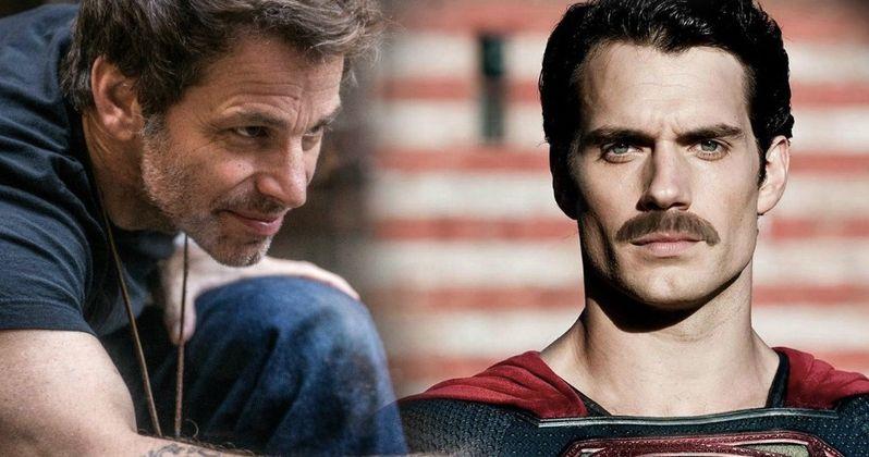 Zack Snyder Pokes Fun at Justice League Mustache Controversy