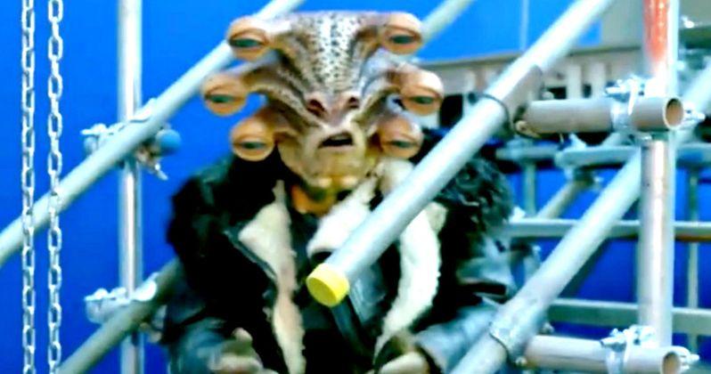 Han Solo Set Video Reveals New Star Wars Alien